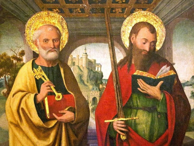 Célébrons avec ferveur la double fête de saint Pierre et de saint Paul