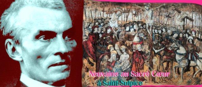 Sacré Cœur — Ouverture de la Neuvaine du Sacré Cœur à Saint-Sulpice
