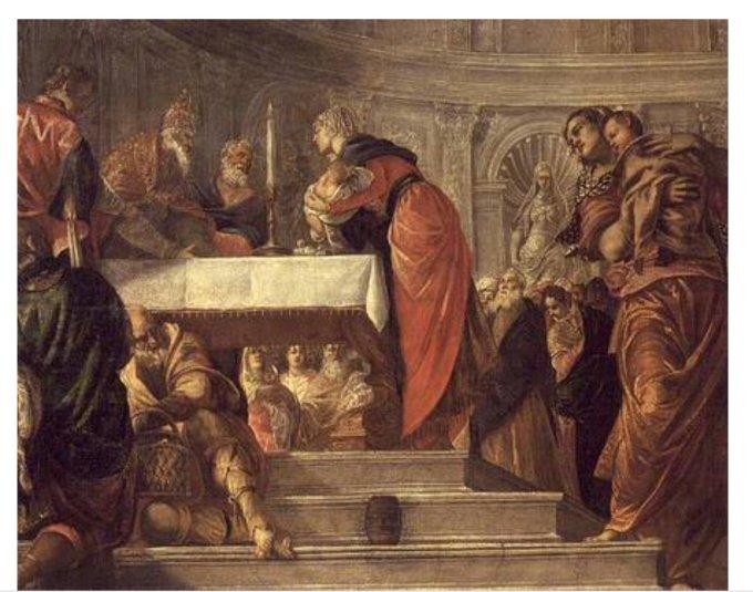9 nov. 4ème mystère  joyeux : La présentation de Jésus au Temple