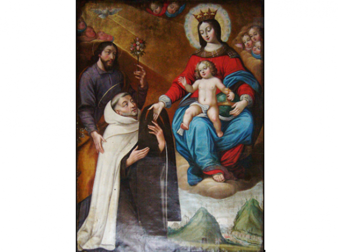 Le rosaire et le scapulaire sont inséparables.