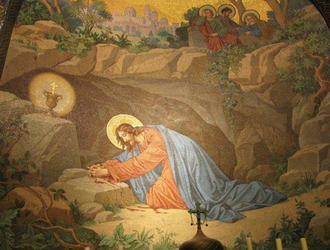 19 novembre, premier mystère douloureux: l'Agonie de Jésus