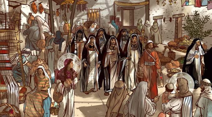 Day 5: Walking with Jesus