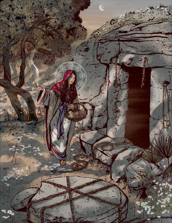 Day 7: the Sabbath wait & empty tomb