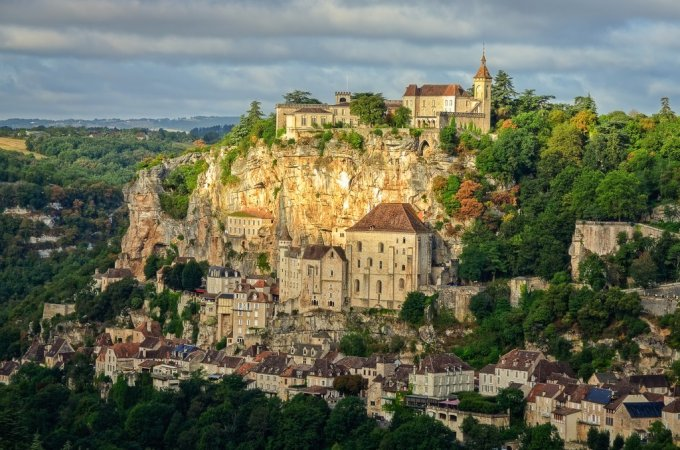 1er Sanctuaire à rejoindre Santa Causa... Notre-Dame de Rocamadour