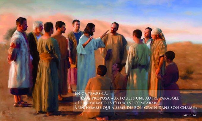 Le royaume des Cieux est comparable à un homme qui a semé du bon grain