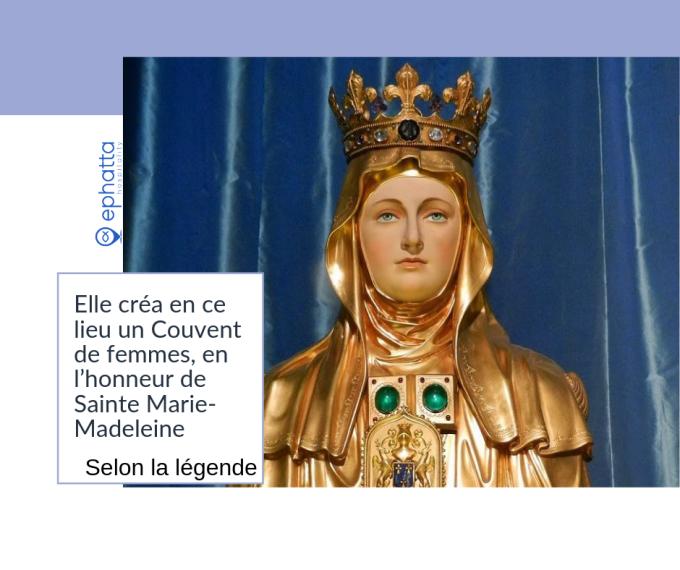 Jour 9: 20 août - Reliques et tombeau de Sainte Marthe