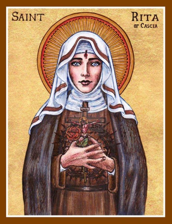 Sainte Rita, priez pour nos jeunes, en ce temps de rentrée