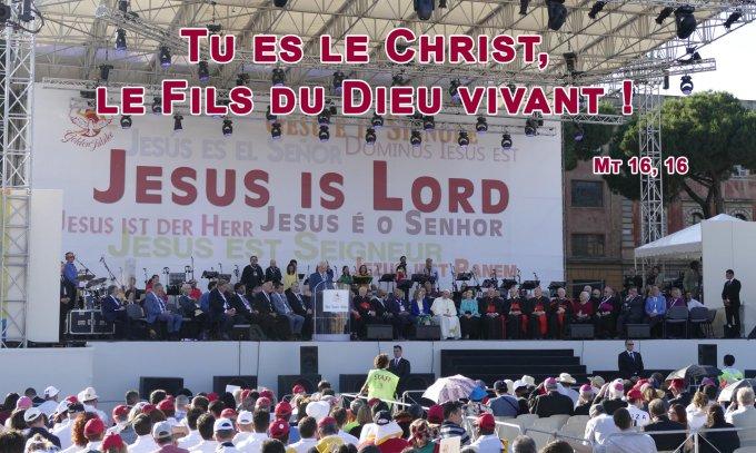 Tu es le Christ, le Fils du Dieu vivant !