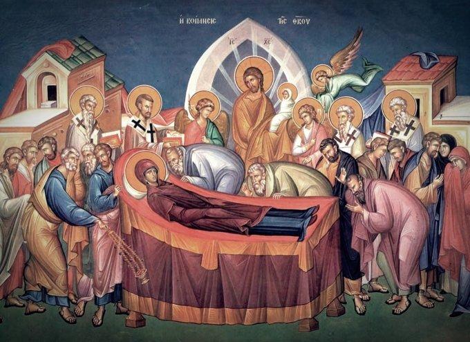 Así murió la virgen María