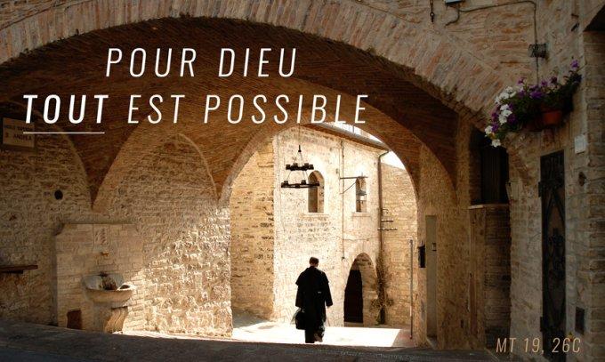 Pour Dieu tout est possible