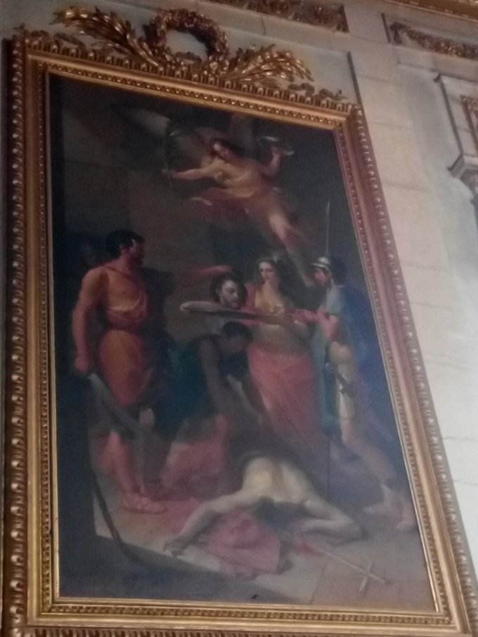 Martyr de St Jean Baptiste...et Assise !