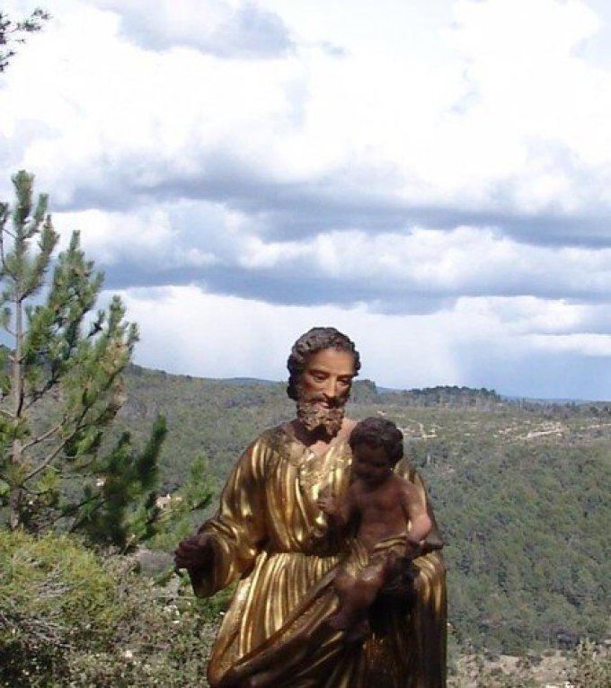 Saint Joseph, Père nourricier de l'Enfant-Jésus, priez pour nous