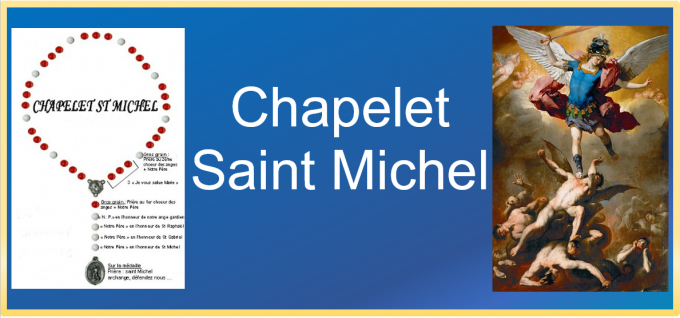 Prier le chapelet de Saint Michel