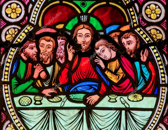 Cœur de Jésus instituant l'Eucharistie