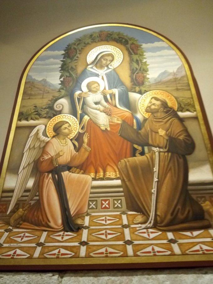 Naissance de la Vierge Marie, Foresta avec St François...Greccio !