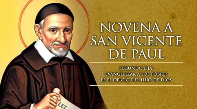 NOVENA A SAN VICENTE PAÚL (SEGUNDO DÍA)