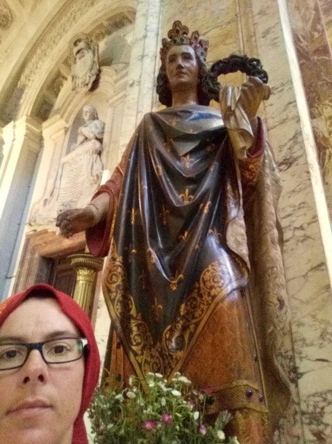 ......St Jacques et St Benoît Joseph Labre...!