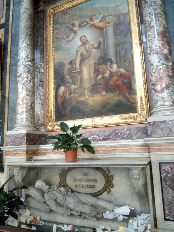 (14 septembre après midi) St Benoît Joseph Labre !