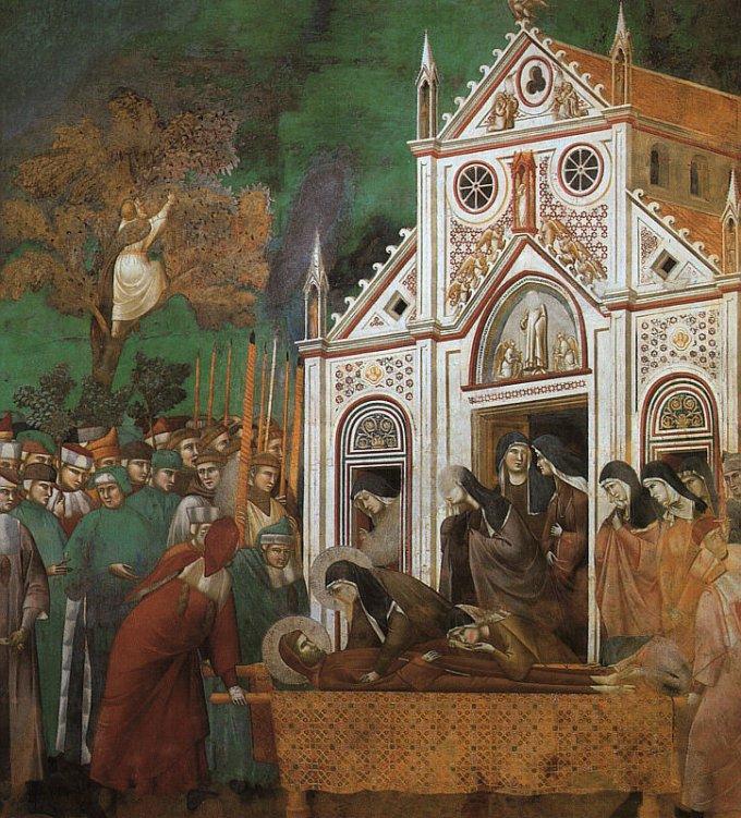 9ème jour : mort et gloire de saint François