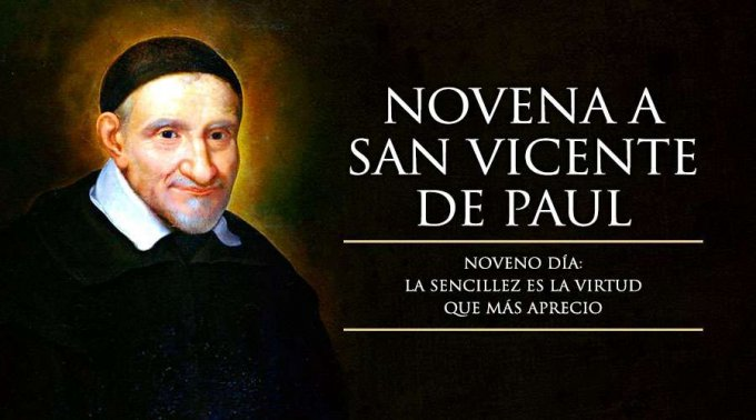 NOVENA A SAN VICENTE DE PAÚL (NOVENO DÍA)