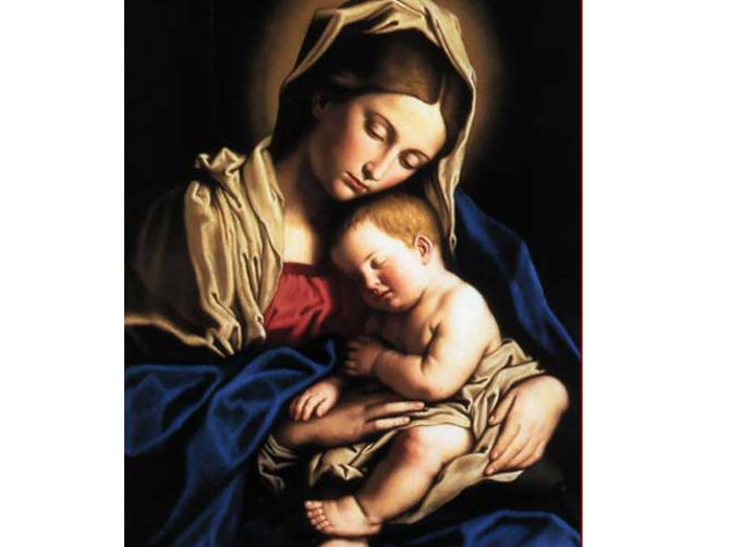 Sainte Marie Mère de Dieu.