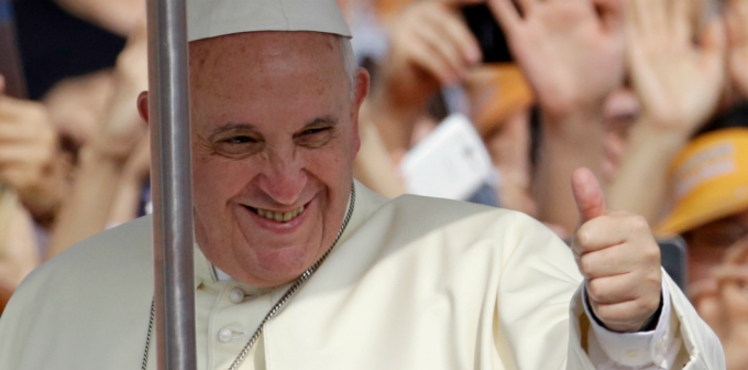 Le Pape François et l'ouverture aux autres