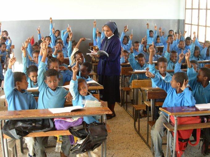 Prions pour les chrétiens d'Érythrée.