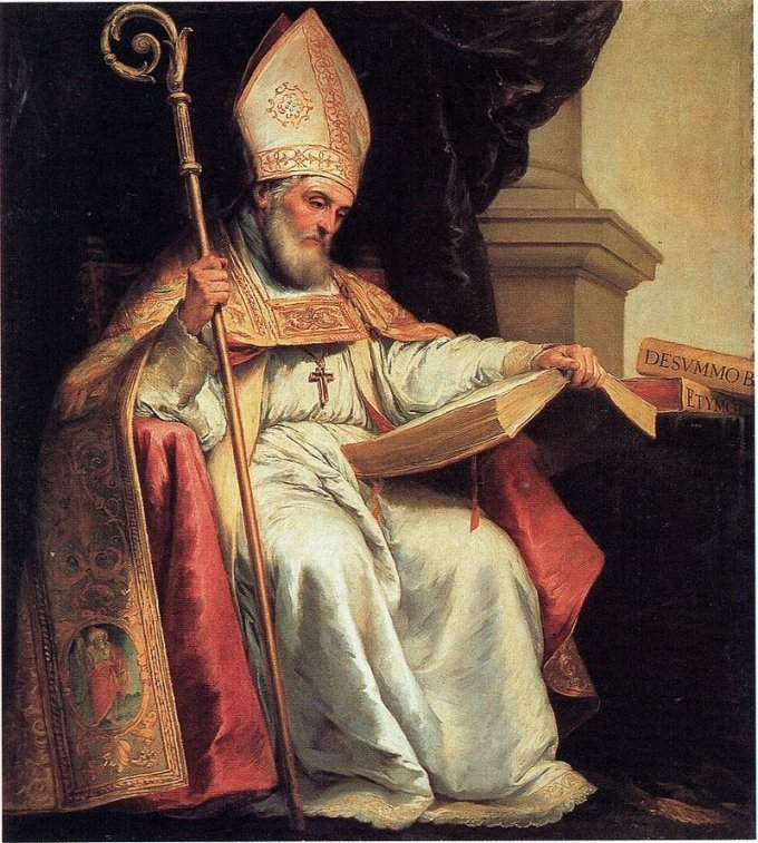 Saint Isidore and other saints for modern-day calamities