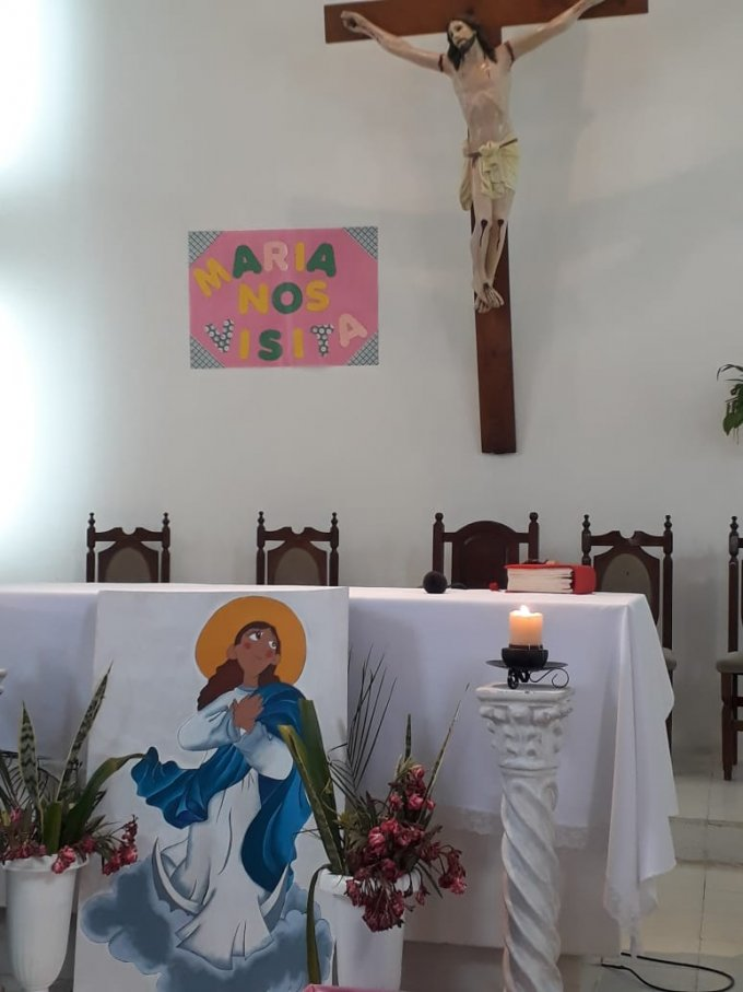 el día de la Natividad  de la Virgen