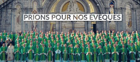 Prions avec nos évêques !