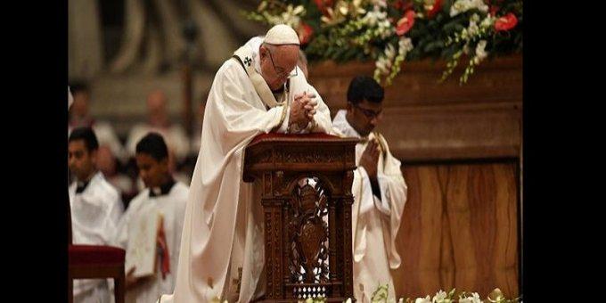 Avant l'Avent avec le Pape François