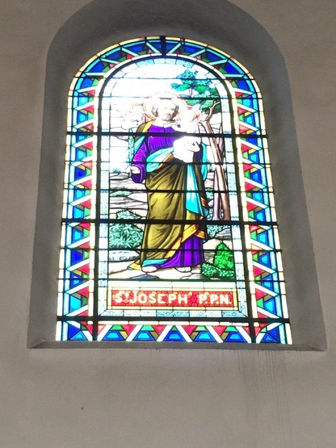 Saint Joseph, récompensé au Ciel d'une gloire, priez pour nous