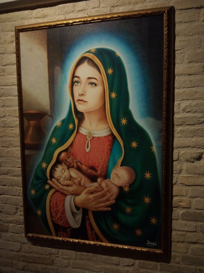 Un arrêt à Rimini ! Sous la protection de Marie ! Et bienveillance de St Bernard