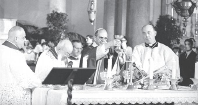 «''Nouvelle époque'' de la vie de l'Eglise. »